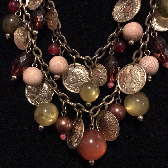 Chico's Jewelry - EUC~ Chico's Double Chain Necklace